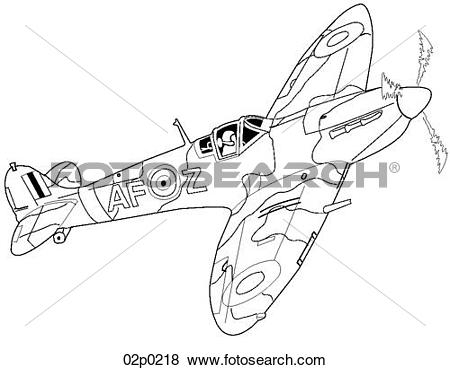 Spitfire Clip Art EPS Images. 52 spitfire clipart vector.