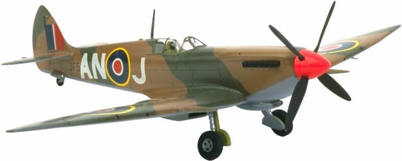 Spitfire plane clipart.