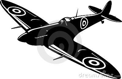 Spitfire Stock Illustrations.