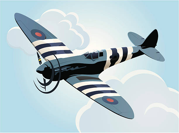 Spitfire Clip Art, Vector Images & Illustrations.