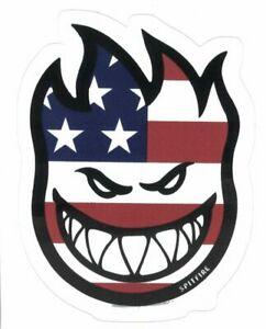 Details about SPITFIRE US FLAG LOGO STICKER ~ Skateboard Skate Wheels 3.75\