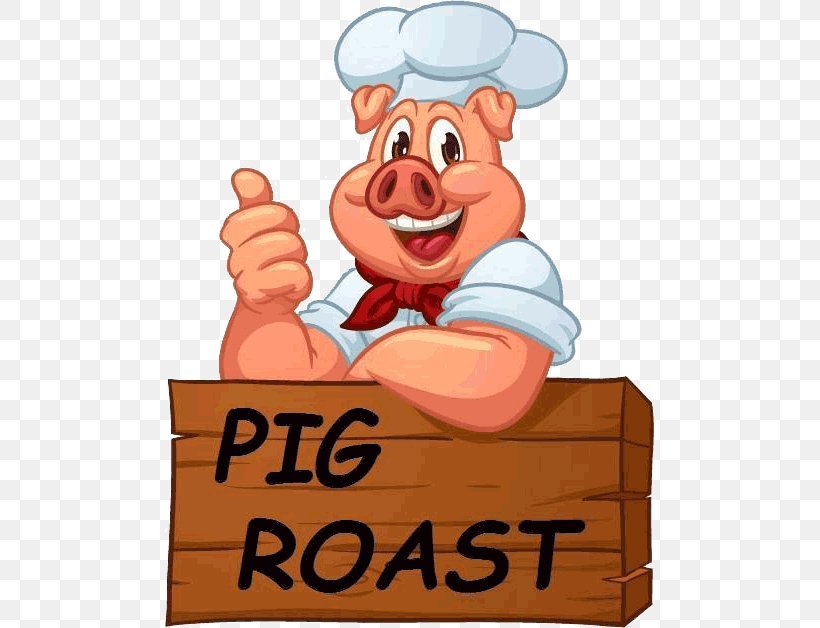 Pig Roast Roasting Barbecue Roast Chicken, PNG, 489x628px.