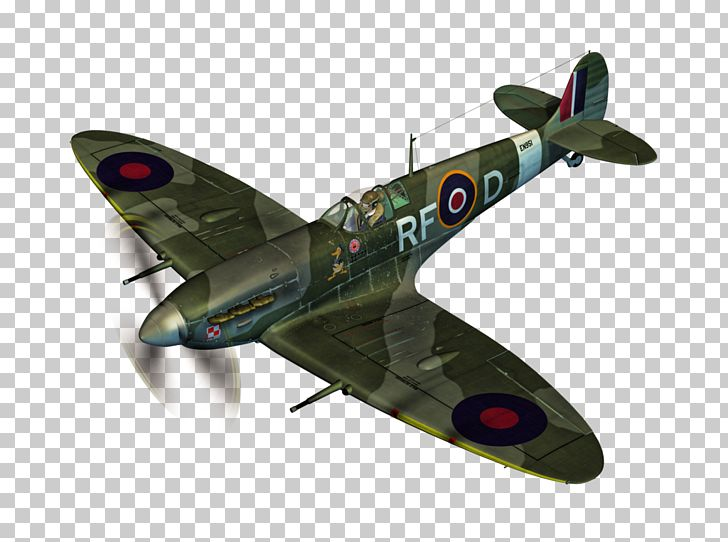 Supermarine Spitfire Airplane Aircraft PNG, Clipart.