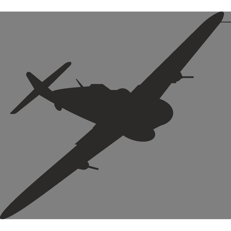 Supermarine Spitfire Airplane Warbird Bomber Clip art.