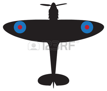 Spitfire Plane Clipart Clipground