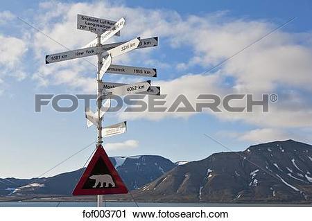 Stock Photography of Europe, Norway, Spitsbergen, Svalbard.