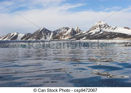 Picture of On the Arctic Sea.