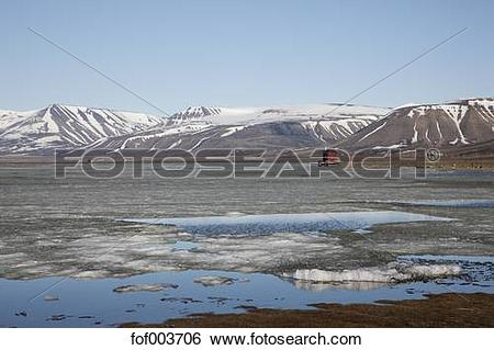 Stock Images of Europe, Norway, Spitsbergen, Svalbard.