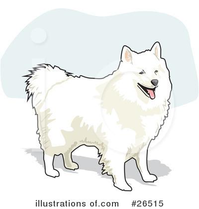 American Eskimo Dog Clipart #26515.