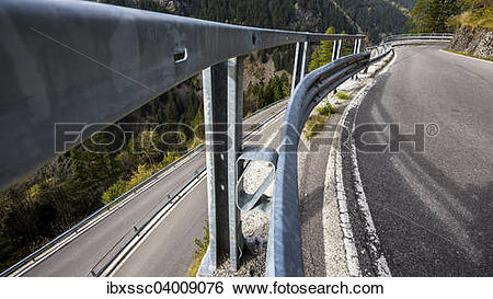 "Stock Images of ""Splugen pass road, Sondrio province, Lombardy."