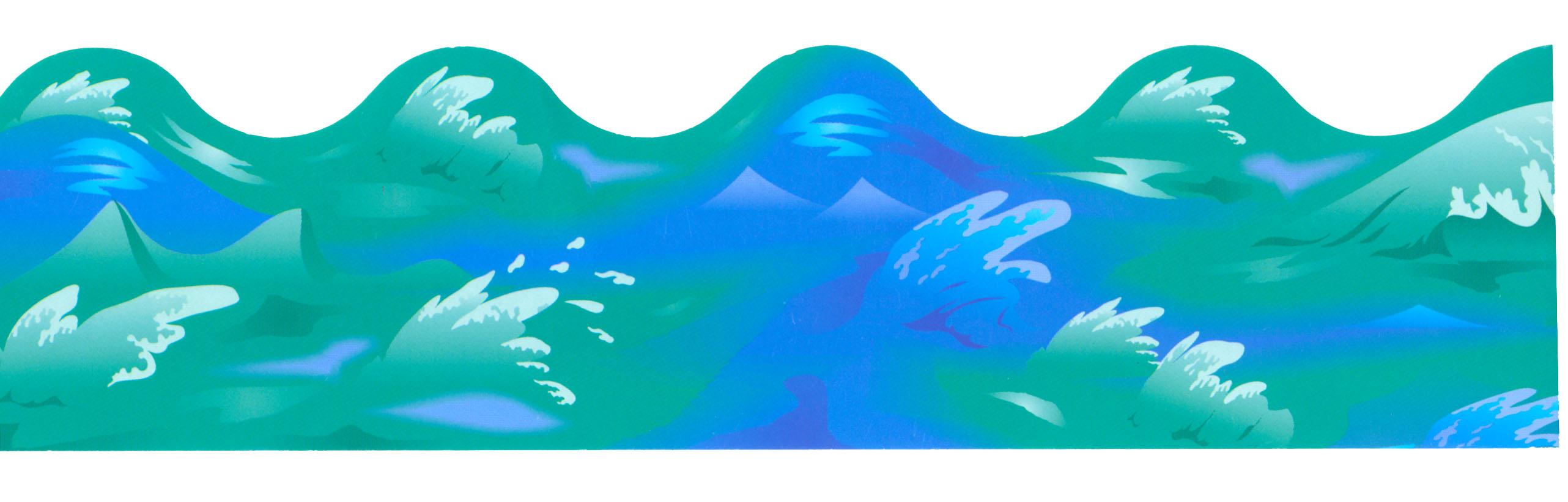 Ocean Splash Clip Art.