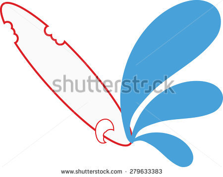 And Flowing Surfing And Surfing Boards Stock Vectors & Vector Clip.