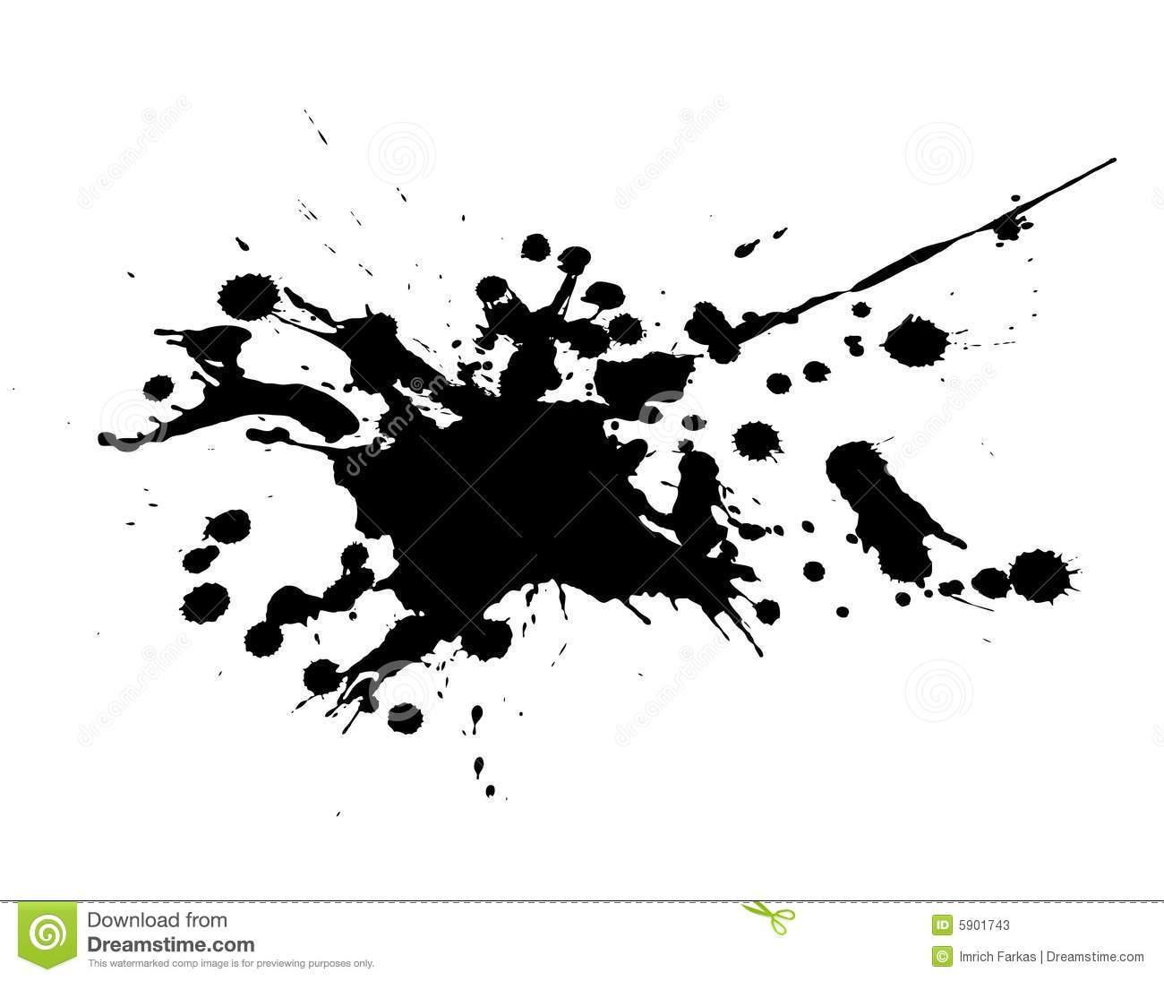 Splash clipart black and white 4 » Clipart Portal.