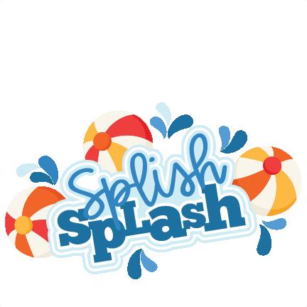 Splish Splash Clipart.