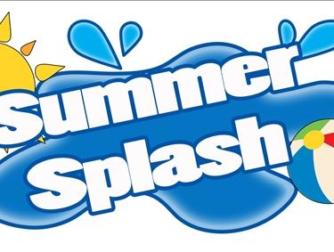 Splash Day Clipart.