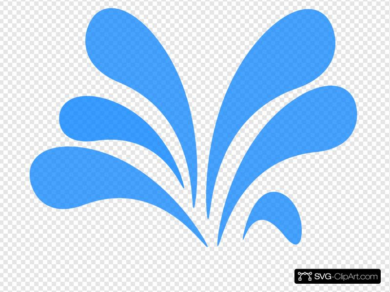 Water Splash Clip art, Icon and SVG.