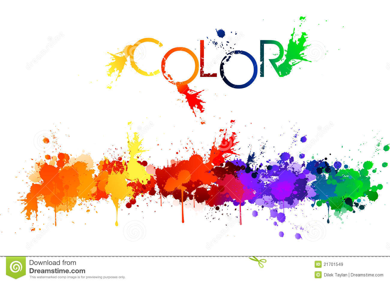Color Splash Clipart Free.