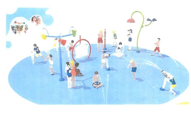 Splash Park Clipart 57572.