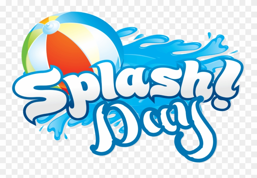 Beach Ball Clipart Splash Pad.