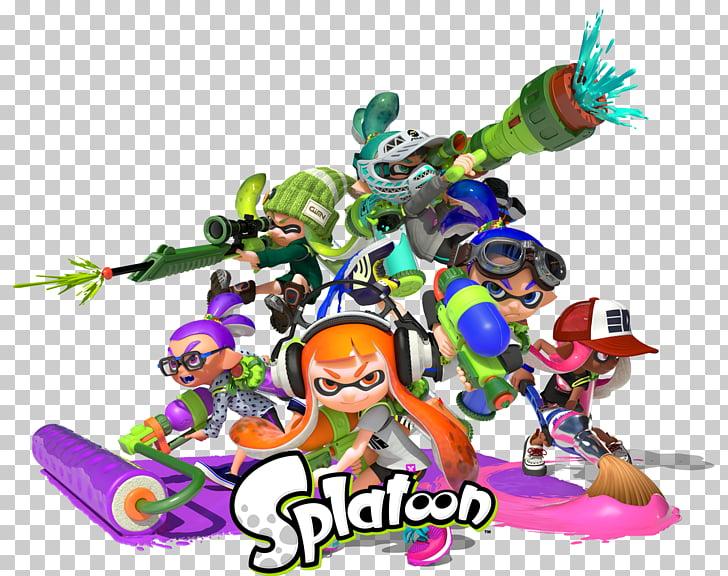 Splatoon 2 Wii U Nintendo, splatoon ink PNG clipart.