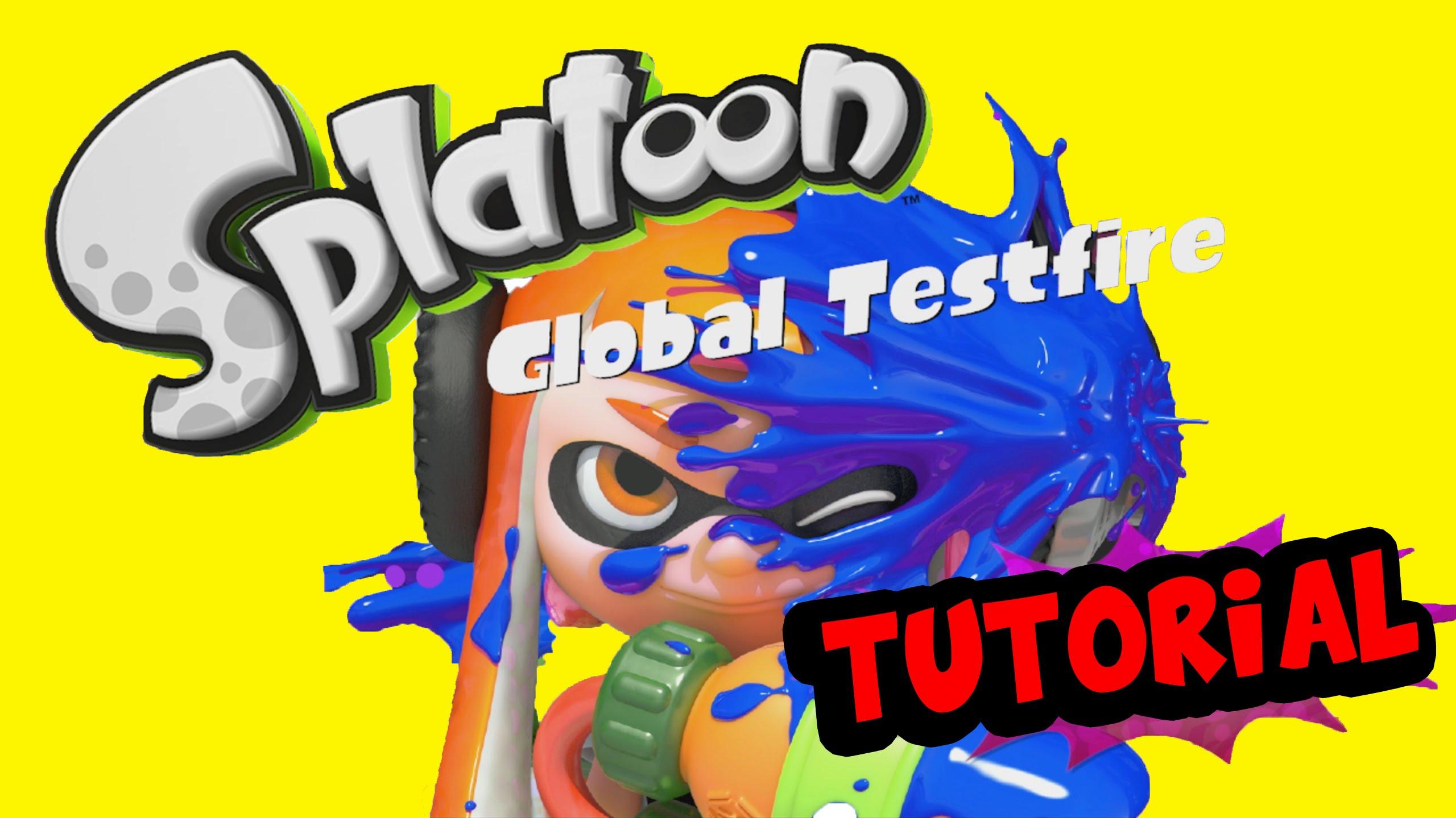 Splatoon Global Testfire: Tutorial (1080p/60fps).