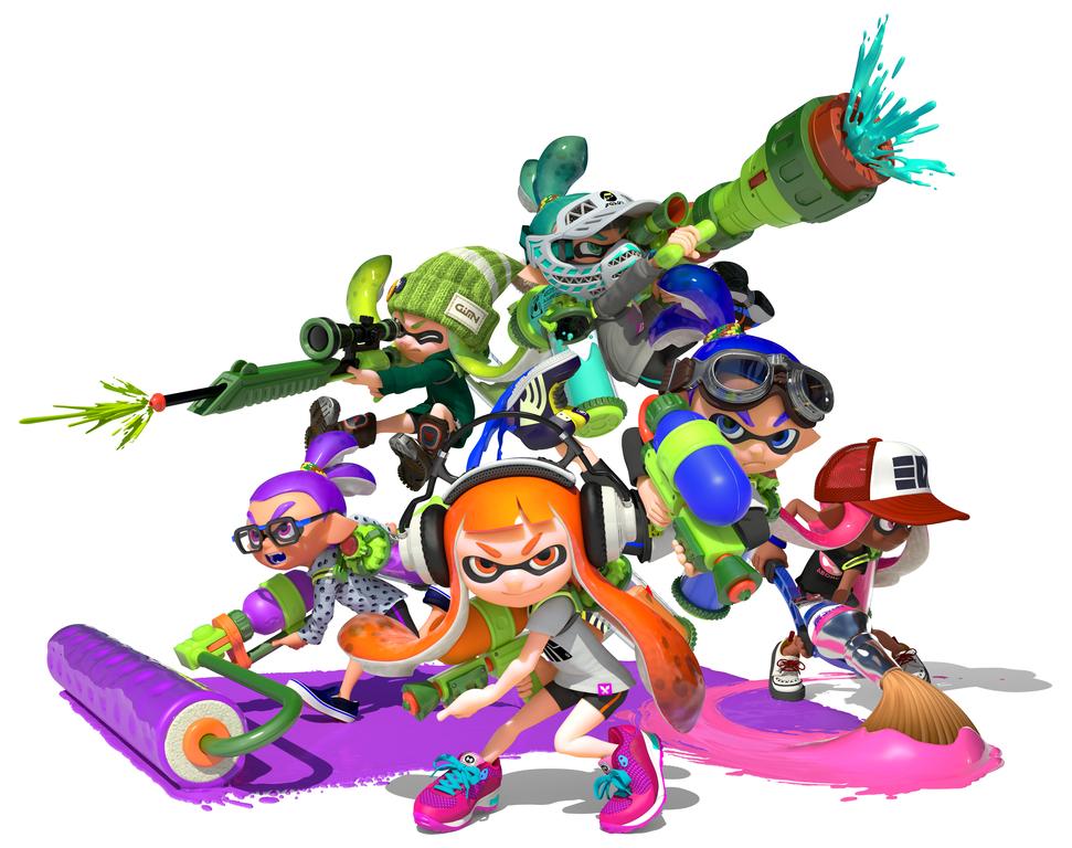 Nintendo of America holding Splatoon art contest.