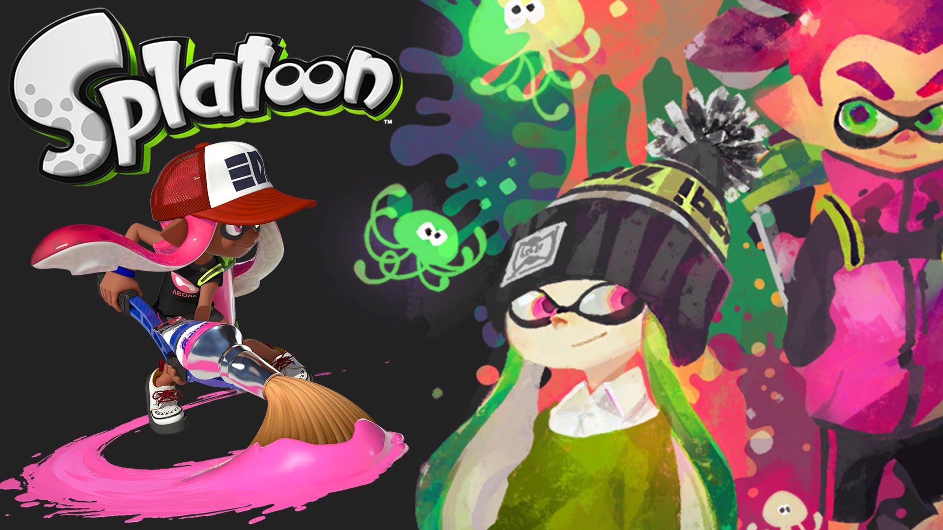2 Zagrajmy w Splatoon.