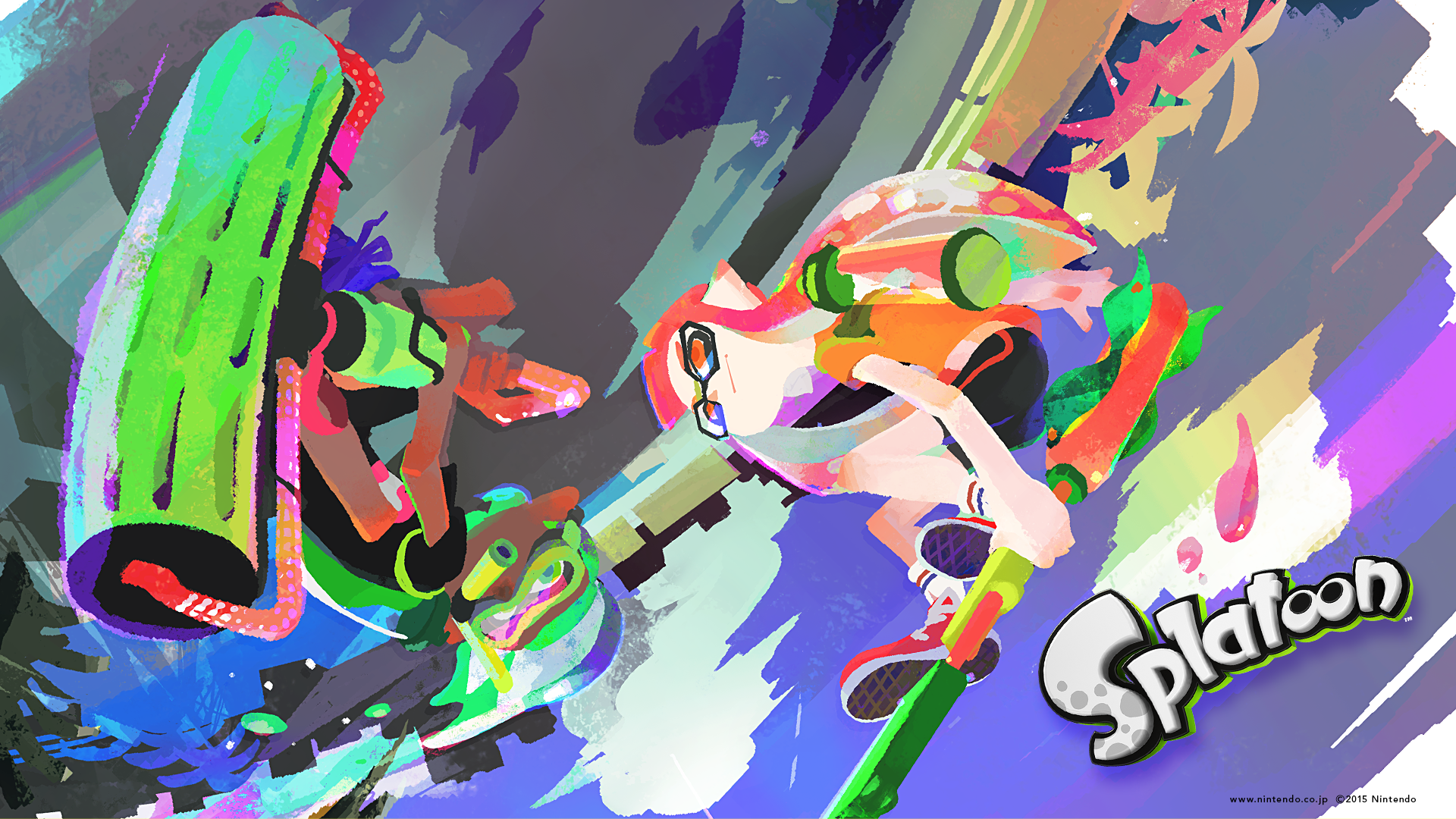 Splatoon Clipart 1080p.