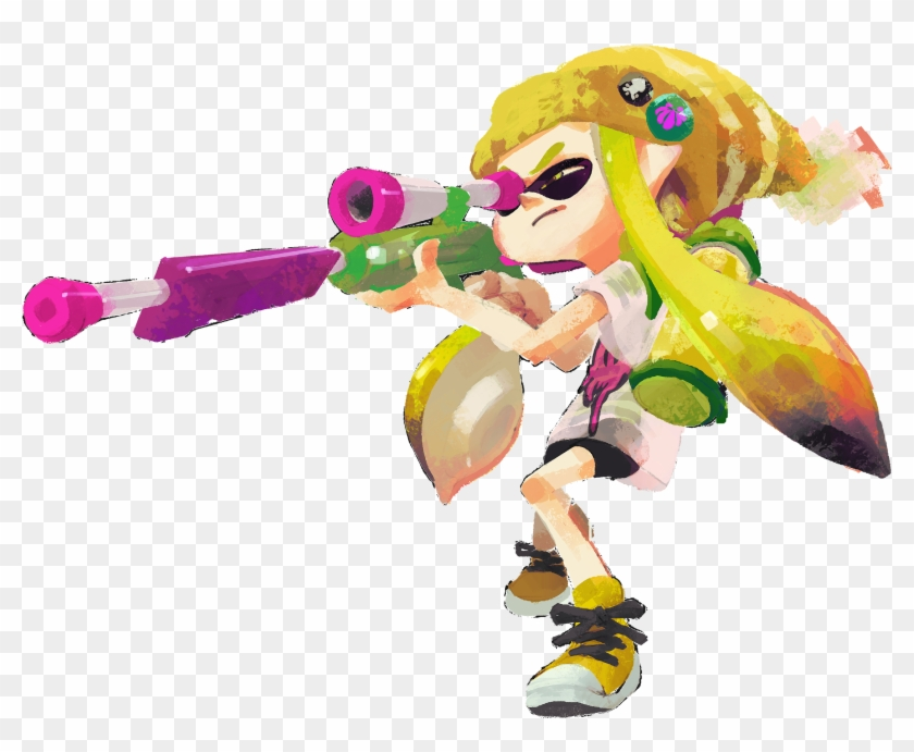Splatoon, HD Png Download.