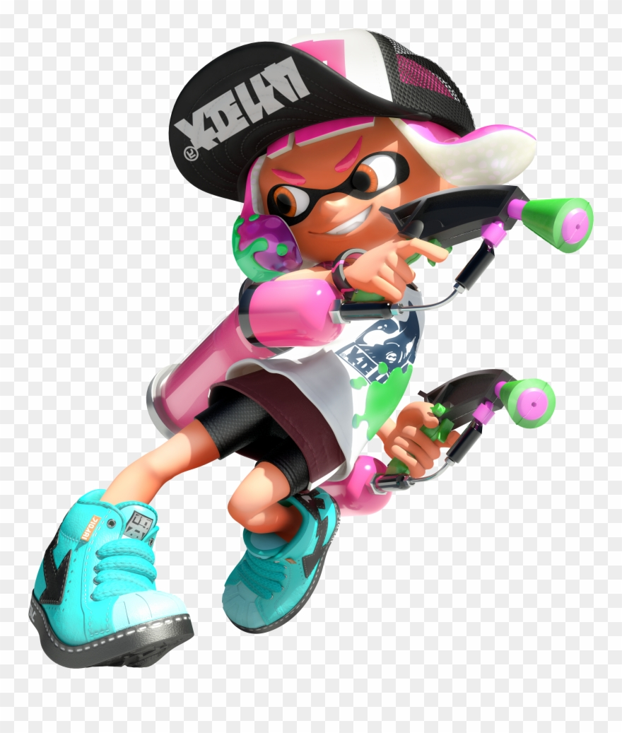 2 Clipart Splatoon.