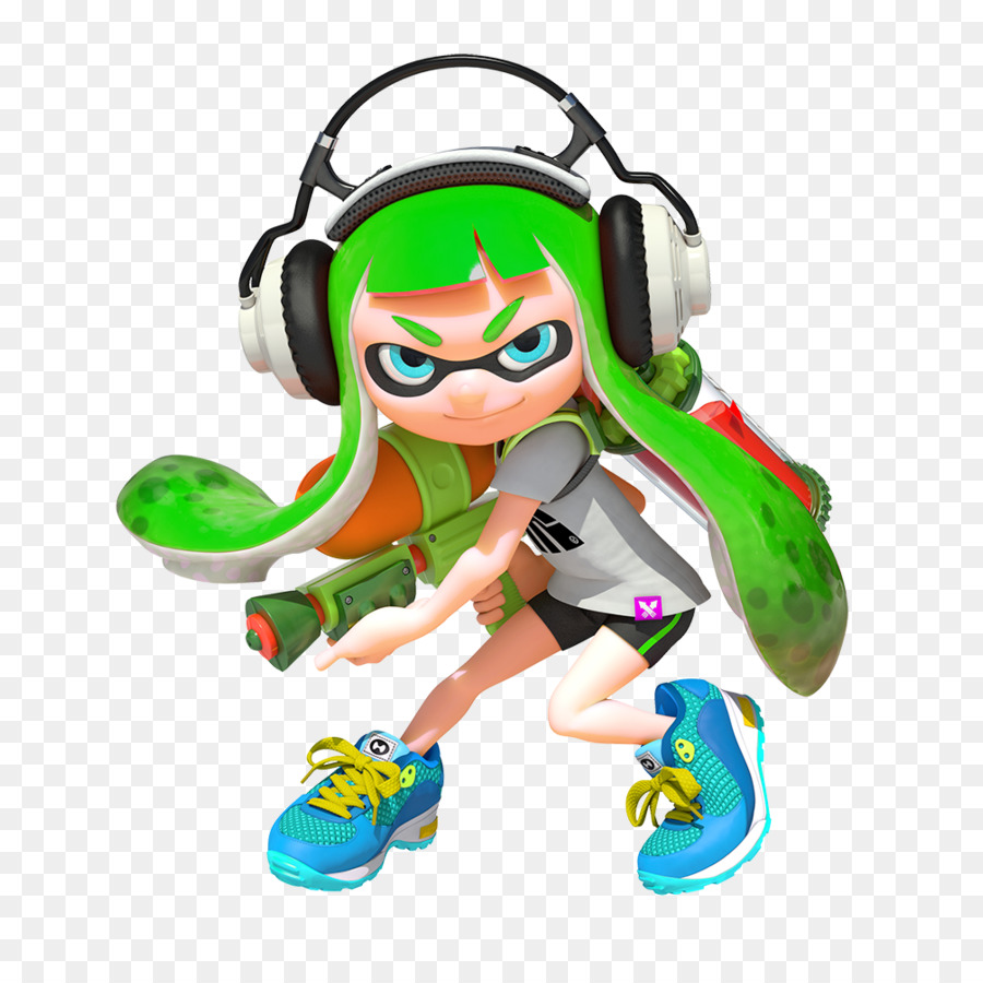Splatoon Toy png download.