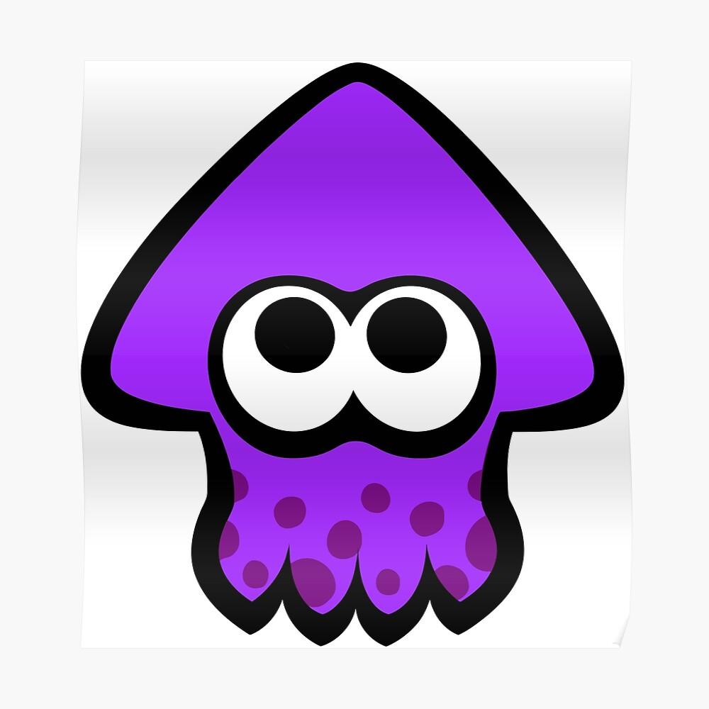 Neo Splatoon Squid (Purple).