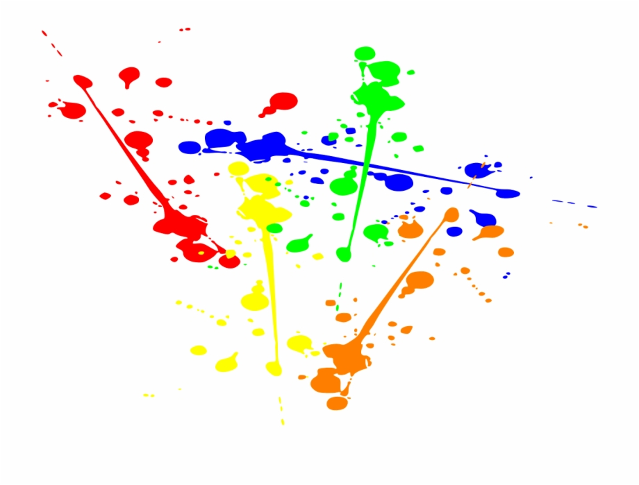 Splatter Ink Paint Splash Png Image.