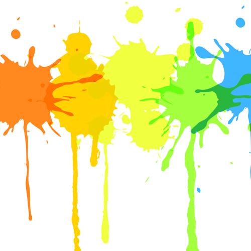Paint Splatter Clipart.