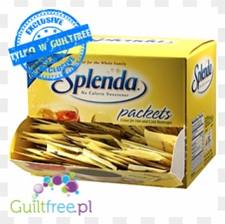 Splenda Sweetener In Sachet With Sucralose.