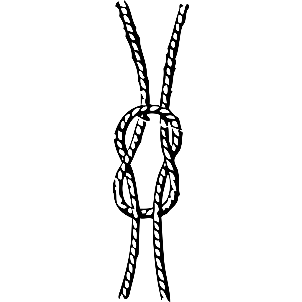 Seizings, hitches, splices, bends and knots clipart, cliparts of.