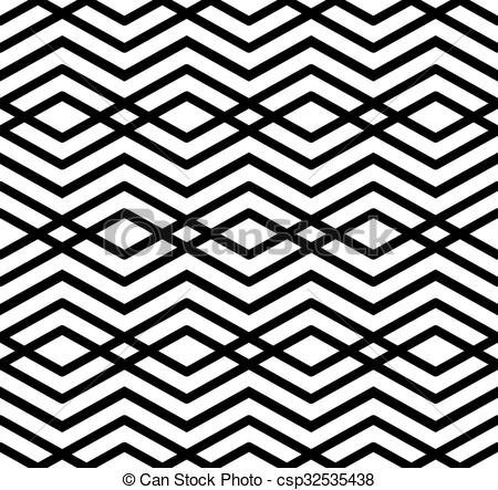 Vectors of Modern zigzag contrast geometric seamless pattern.