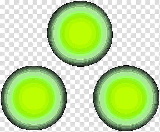 Splinter Cell Chaos Theory Icon Colors, three round green.