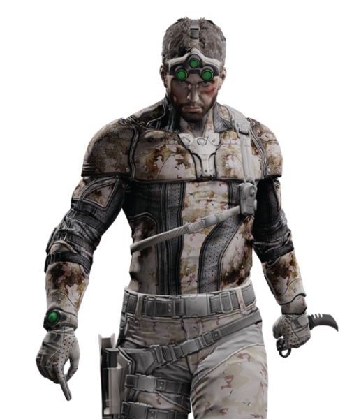 Tom Clancy\'s Splinter Cell Blacklist render.