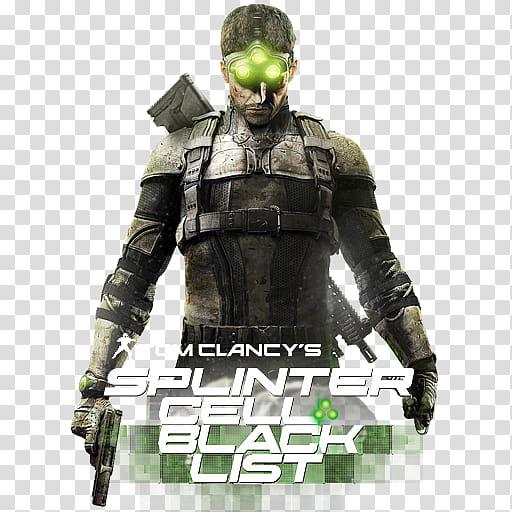 Splinter Cell Blacklist icon , SCB b, Tom Clancy\'s Splinter.