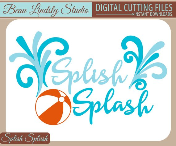 Splish splash clipart 4 » Clipart Station.