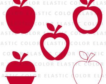 Split apple.