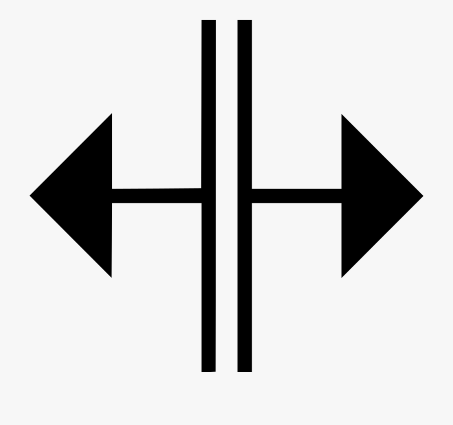 Split Arrow Png.