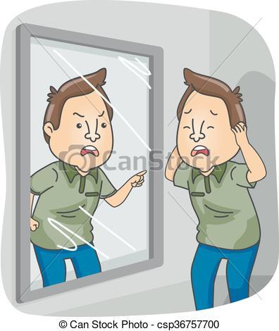 Split personality Vector Clip Art Illustrations. 26 Split.