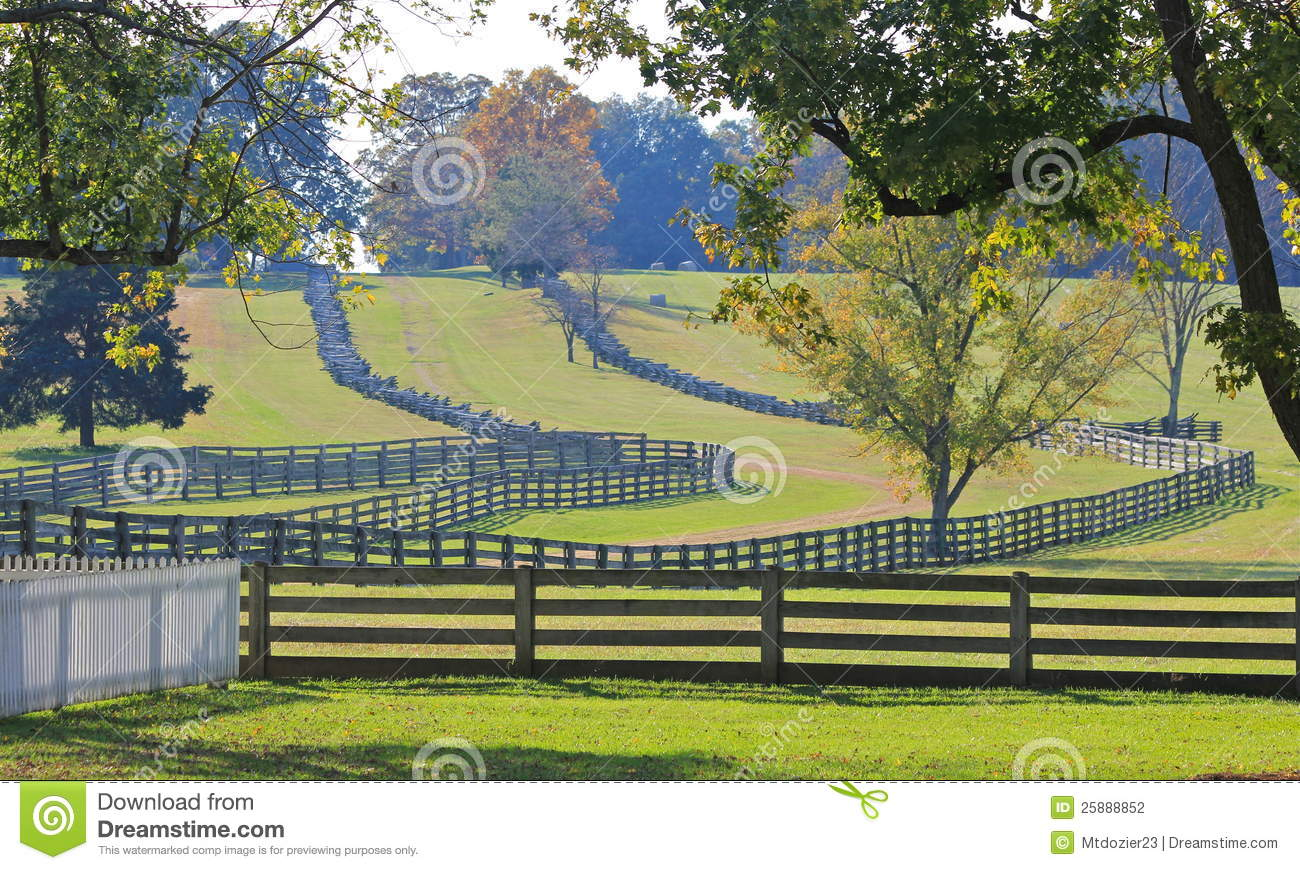 Split rail clipart.