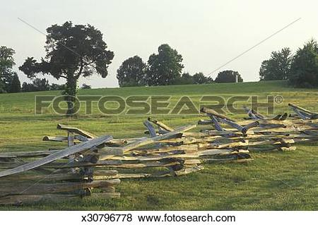 Pictures of 'Split rail fence Appomattox Courthouse Historic.
