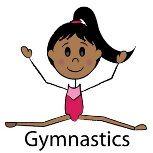 Gymnast Clipart Image.