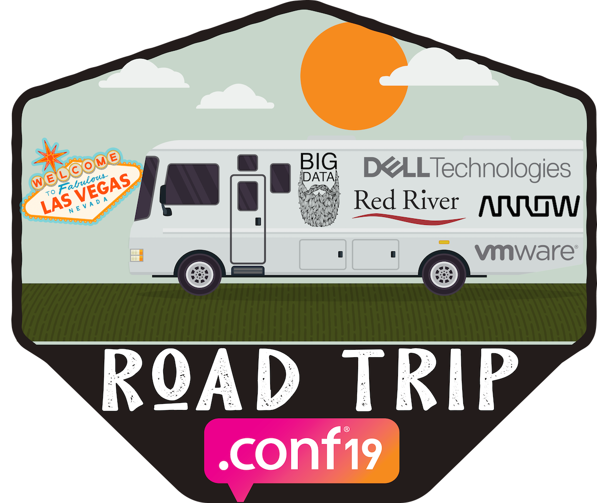 The Big Data Beard Team is Hitting the Road for the Most.