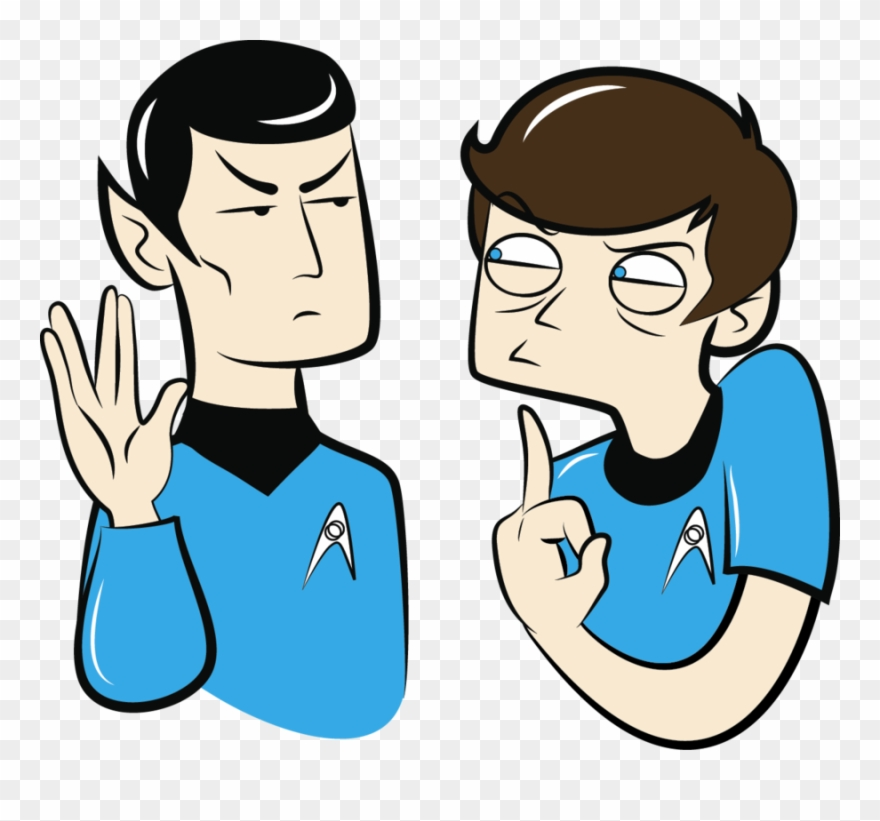 Spock You Clipart (#2258569).