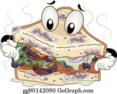 Spoiled Food Clip Art.